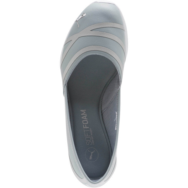 PUMA Vega Ballet Women's SL Shoes, Quarry-Puma Silver, large