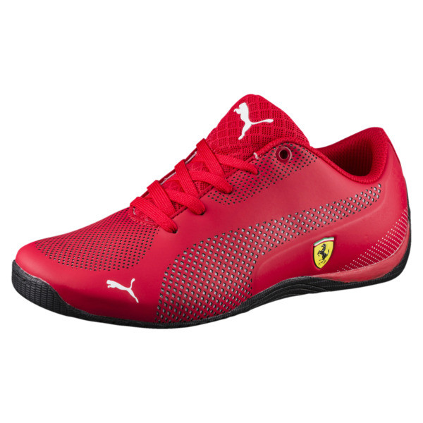 ba1959d6a598 Scuderia Ferrari Drift Cat 5 Ultra Shoes JR, Rosso Corsa-Puma White, large
