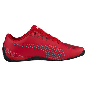 Thumbnail 3 of Scuderia Ferrari Drift Cat 5 Ultra Shoes JR, Rosso Corsa-Puma White, medium