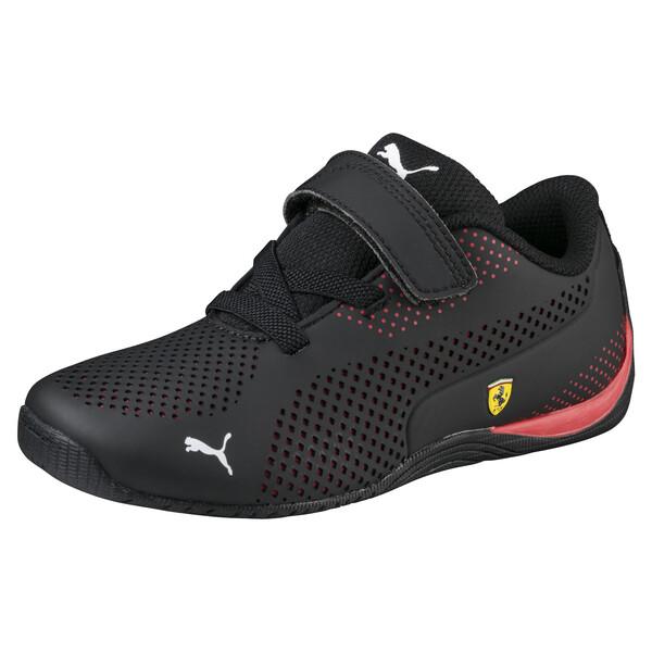 Scuderia Ferrari Drift Cat 5 Ultra Shoes PS, Puma Black-Rosso Corsa, large