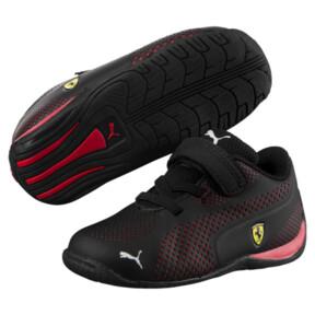 Thumbnail 2 of Scuderia Ferrari Drift Cat 5 Ultra Toddler Shoes, Puma Black-Rosso Corsa, medium