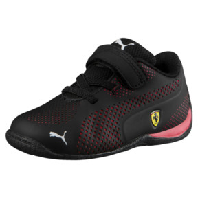 Thumbnail 1 of Scuderia Ferrari Drift Cat 5 Ultra Toddler Shoes, Puma Black-Rosso Corsa, medium