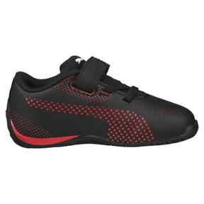 Thumbnail 3 of Scuderia Ferrari Drift Cat 5 Ultra Toddler Shoes, Puma Black-Rosso Corsa, medium