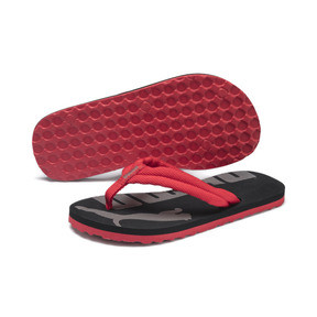 Thumbnail 2 of Epic Flip v2Preschool Kids' Trainers, High Risk Red-Puma Black, medium