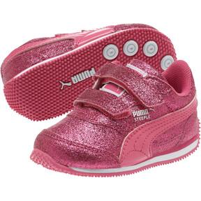 Thumbnail 2 of Steeple Glitz Glam Toddler Shoes, Fandango Pink, medium