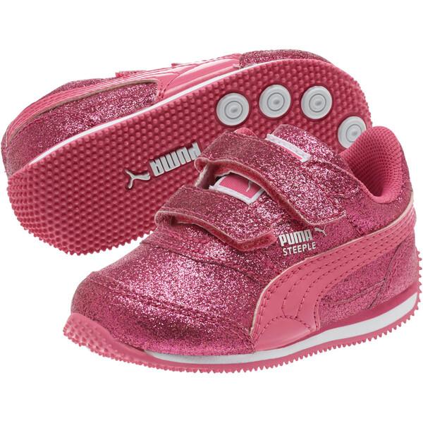 Steeple Glitz Glam Toddler Shoes, Fandango Pink, large