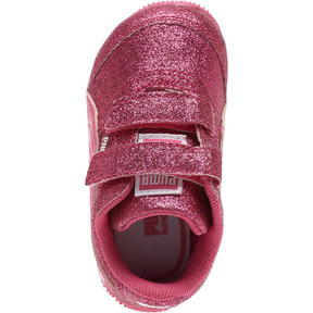 Thumbnail 5 of Steeple Glitz Glam Toddler Shoes, Fandango Pink, medium