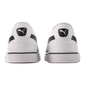 Thumbnail 4 of コートポイント VULC V2 スニーカー, Puma White-Puma Black, medium-JPN