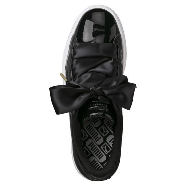 dfa5d0200f214 Chaussure Basket Heart Patent pour femme