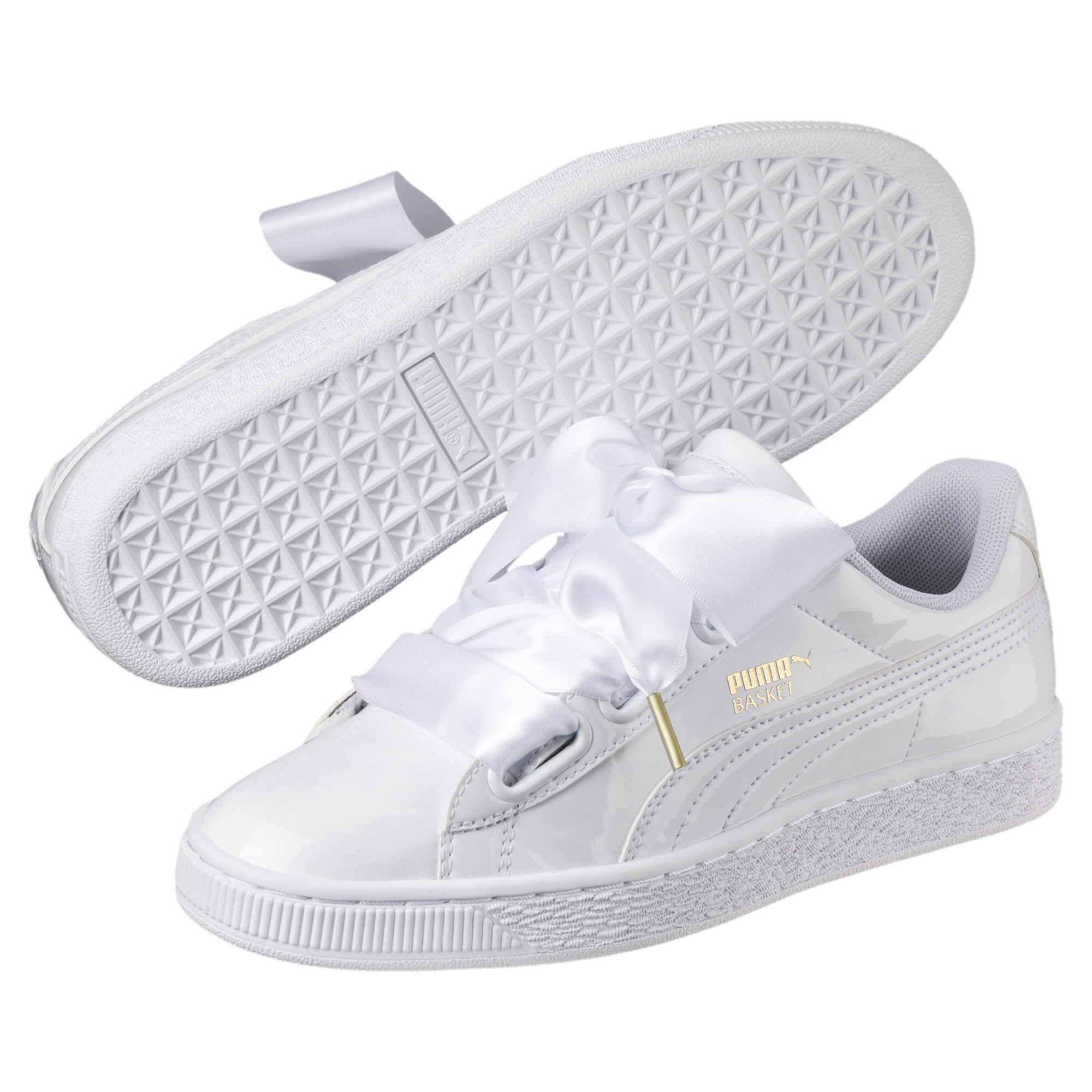 Details zu PUMA Basket Heart Patent Damen Sneaker Frauen Schuhe Sport Classics Neu