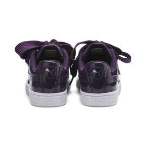 Thumbnail 4 of Basket Heart Patent Women's Sneakers, Indigo-Puma White, medium