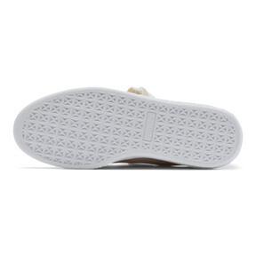 Thumbnail 4 of Basket Heart Patent Women's Sneakers, Silver Gray-Silver Gray, medium