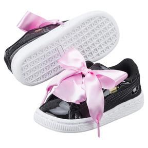 Thumbnail 6 of Basket Heart Patent Sneakers INF, Puma Black-Puma Black, medium