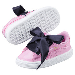Thumbnail 6 of Basket Heart Babies' Trainers, PRISM PINK-PRISM PINK, medium