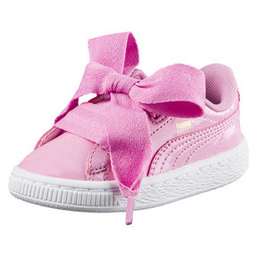 Thumbnail 1 of Basket Heart Babies' Trainers, PRISM PINK-PRISM PINK, medium