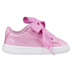 Thumbnail 4 of Basket Heart Babies' Trainers, PRISM PINK-PRISM PINK, medium