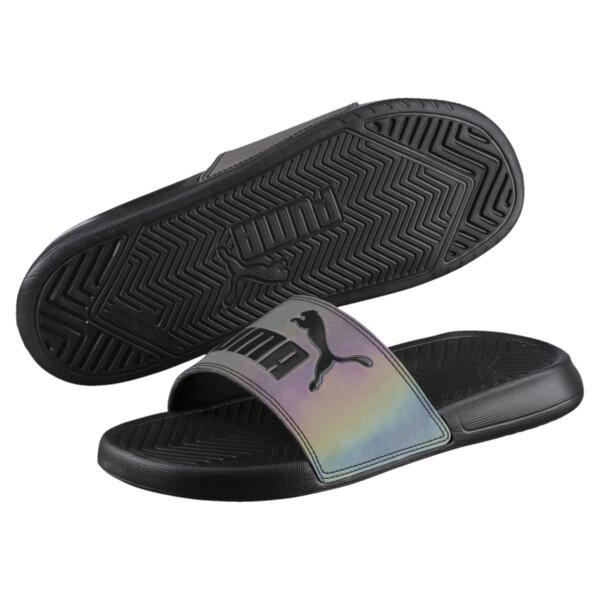 Chaussure Popcat Swan Slide pour femme, Puma Black, large