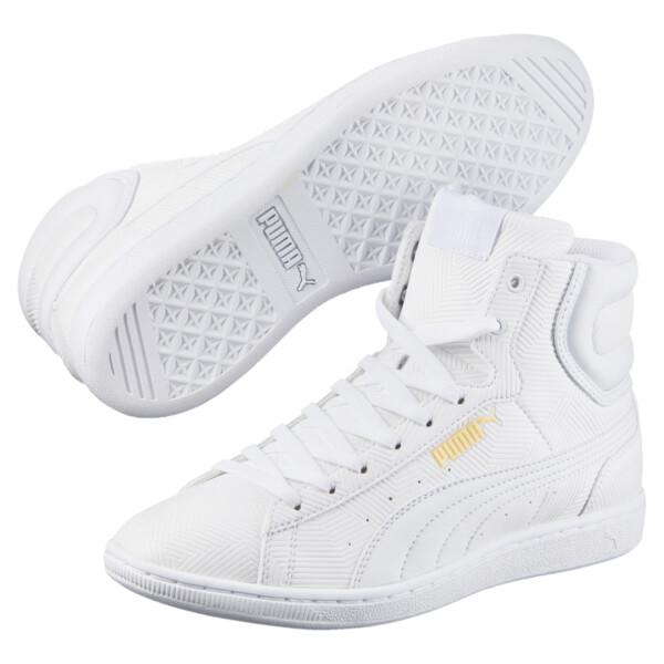 cc926af7 Zapatillas abotinadas de mujer Vikky Mid Deboss, Puma White-Puma White,  grande. ‹ ›