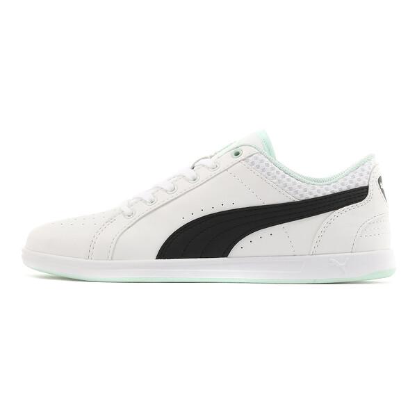 プーマ イカズ ロウ V2 ウィメンズ スニーカー, Puma White-Puma Black-, large-JPN
