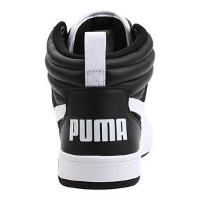 Thumbnail 4 of Puma Rebound Street v2 Sneakers, Puma Black-Puma White, medium