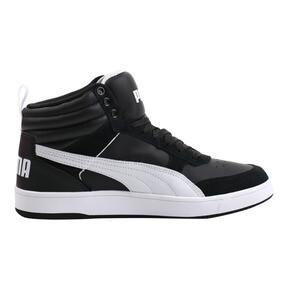 Thumbnail 3 of Puma Rebound Street v2 Sneakers, Puma Black-Puma White, medium