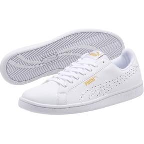 Thumbnail 2 of Smash Perf Sneakers, Puma White-Puma White, medium