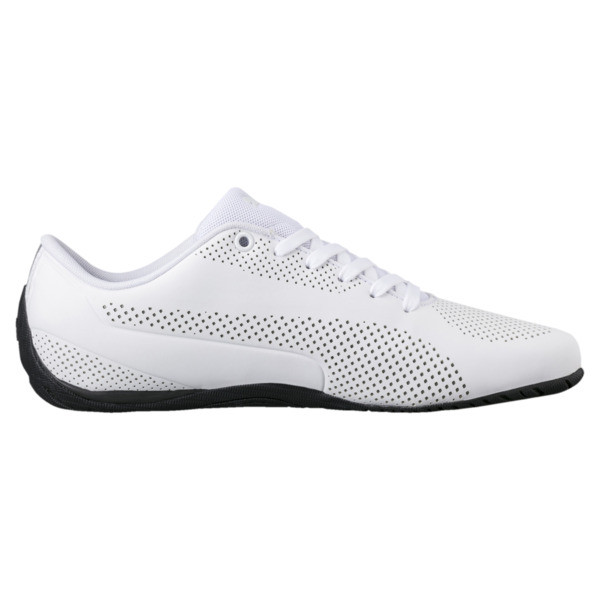 Drift Cat Ultra Reflective Men's Shoes, Puma White-Puma Black, large