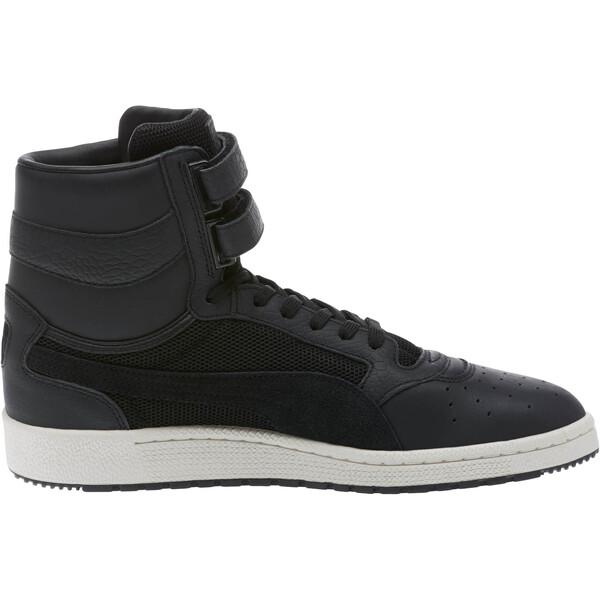 0246bc357b Sky II Hi Colorblocked Leather Sneakers