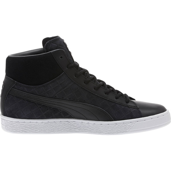 62e590ccbd Suede Classic Mid Quilt Sneakers