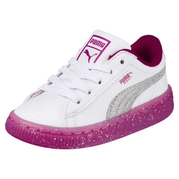 Basket 2 Iced ShoesPuma Glitter Filles Toddler Chaussures DIH9Y2WE