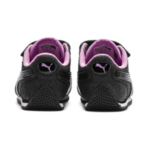 Thumbnail 4 of Whirlwind Glitz V Little Kids' Shoes, Puma Black-Orchid, medium