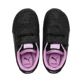 Thumbnail 6 of Whirlwind Glitz V Little Kids' Shoes, Puma Black-Orchid, medium