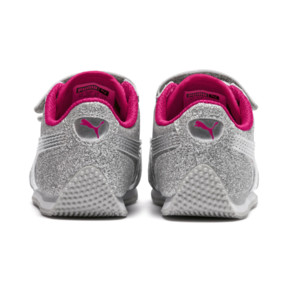 Thumbnail 4 of Whirlwind Glitz V Preschool Sneakers, Silver-Beetroot Purple-Gray, medium