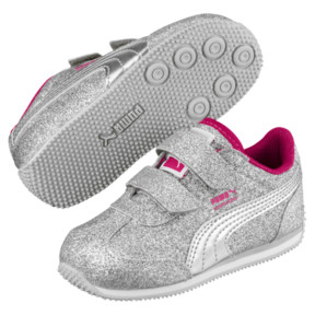 Thumbnail 2 of Whirlwind Glitz V Preschool Sneakers, Silver-Beetroot Purple-Gray, medium