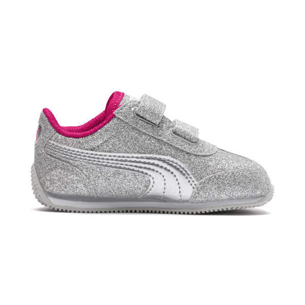 Whirlwind Glitz V Preschool Sneakers, Silver-Beetroot Purple-Gray, large