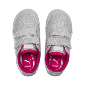 Thumbnail 6 of Whirlwind Glitz V Preschool Sneakers, Silver-Beetroot Purple-Gray, medium
