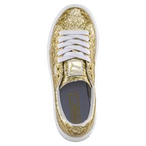 Thumbnail 5 of Basket Platform Glitter Women's Sneakers, 02, medium
