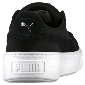 Thumbnail 4 of Basket Platform DE Women's Sneakers, Puma Black-Puma Black, medium