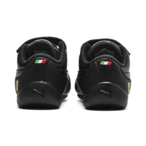Thumbnail 4 of Ferrari Drift Cat 7 V Kids' Trainers, Puma Black-Puma Black, medium
