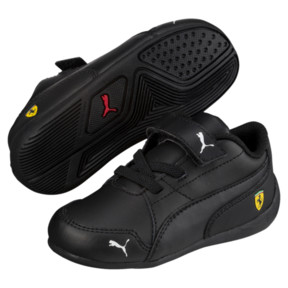 Thumbnail 2 of Ferrari Drift Cat 7 V Kids' Trainers, Puma Black-Puma Black, medium