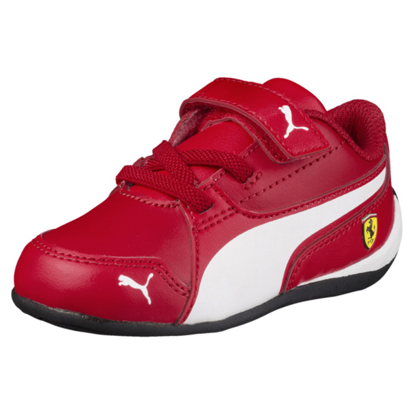 Ferrari Drift Cat 7 Baby Trainers, Rosso Corsa-Puma White, large