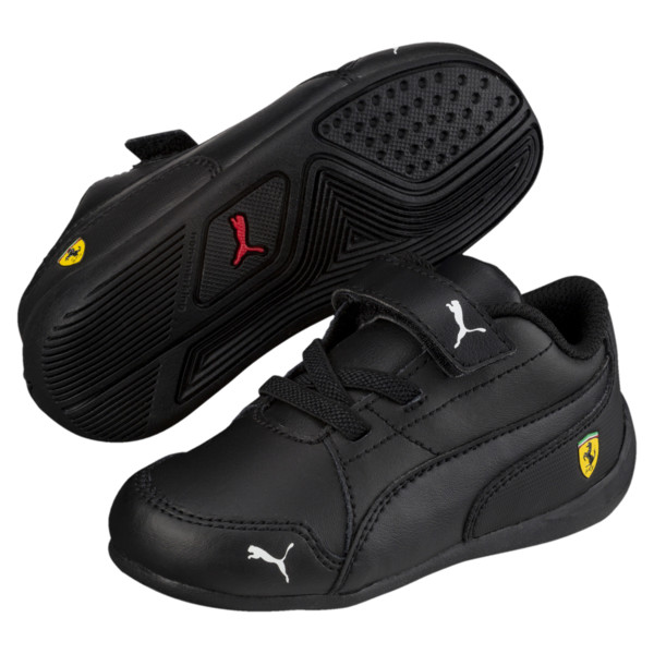 Ferrari Drift Cat 7 Baby Trainers, Puma Black-Puma Black, large