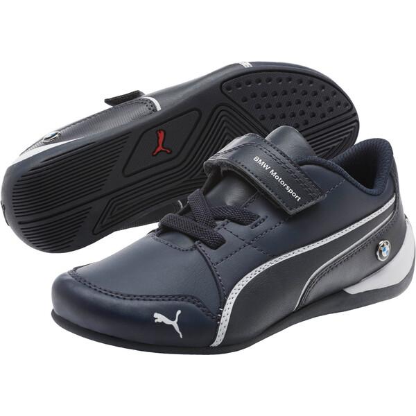 BMW Motorsport Drift Cat 7 V Preschool Kids' Sneakers, Team Blue-Team Blue, large