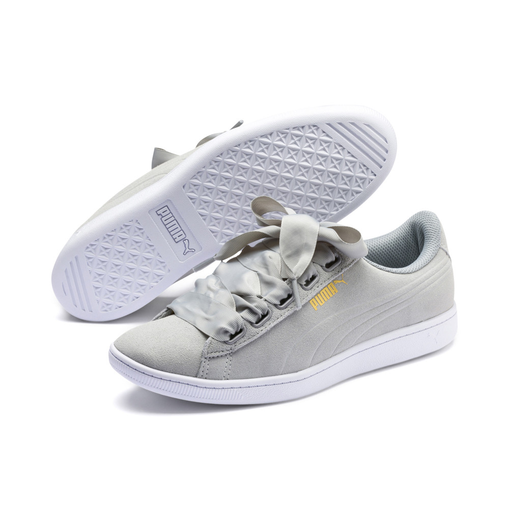 Image PUMA Women's Vikky Ribbon Sneakers #2