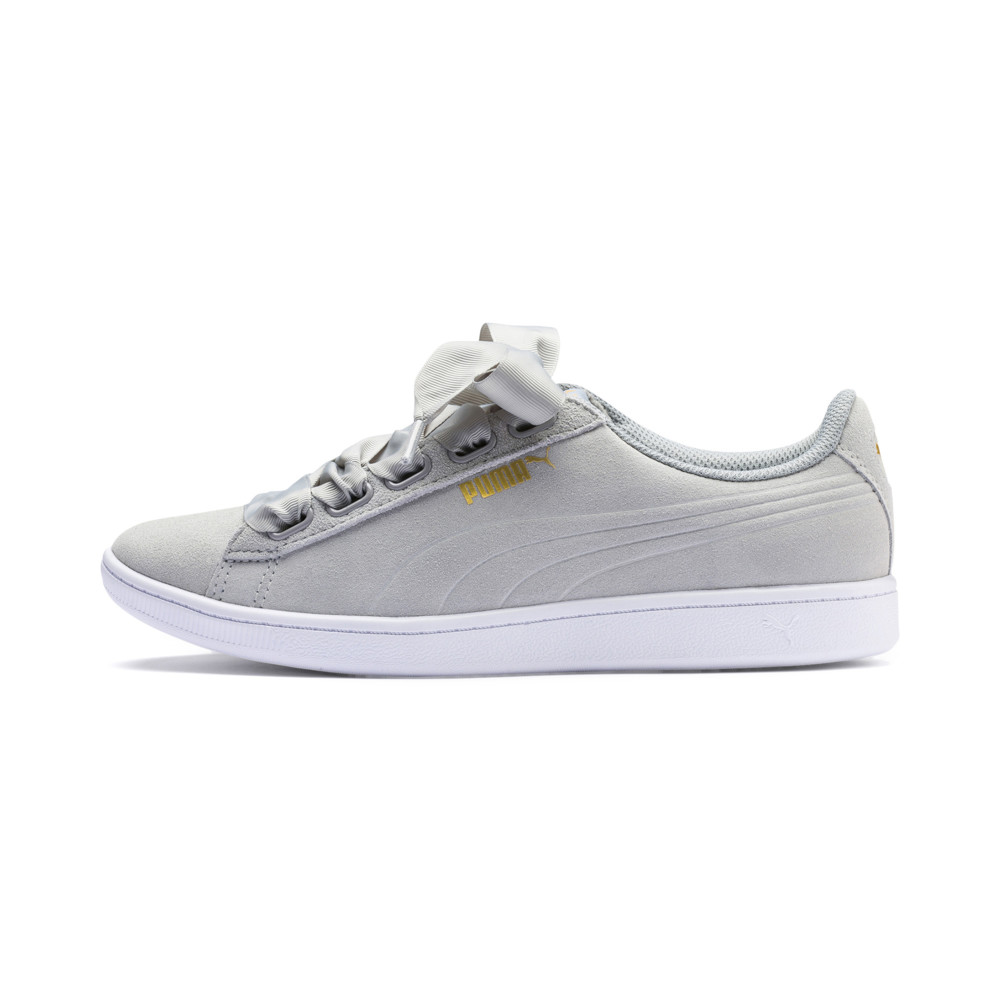 Image PUMA Women's Vikky Ribbon Sneakers #1