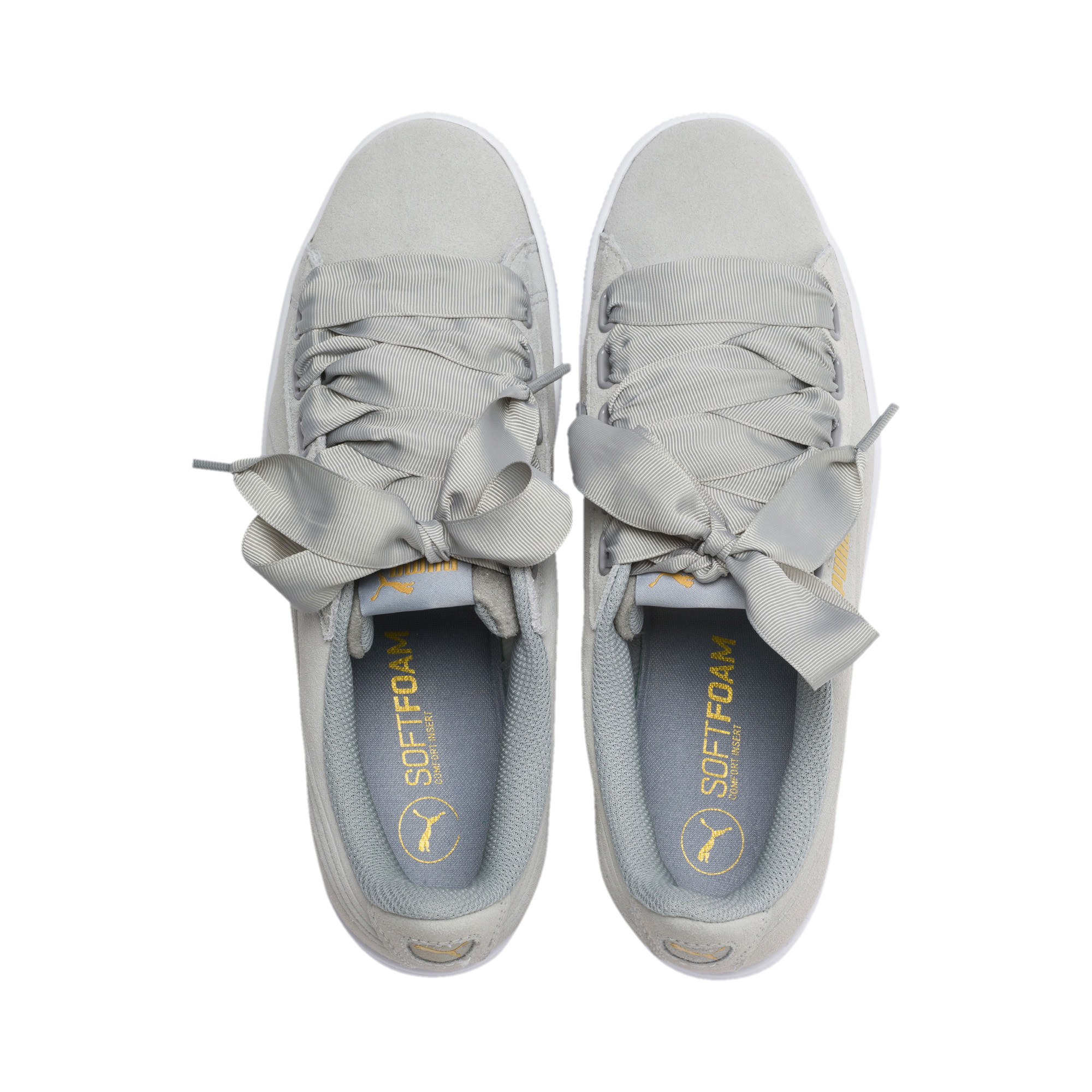 Image Puma Women's Vikky Ribbon Sneakers #6