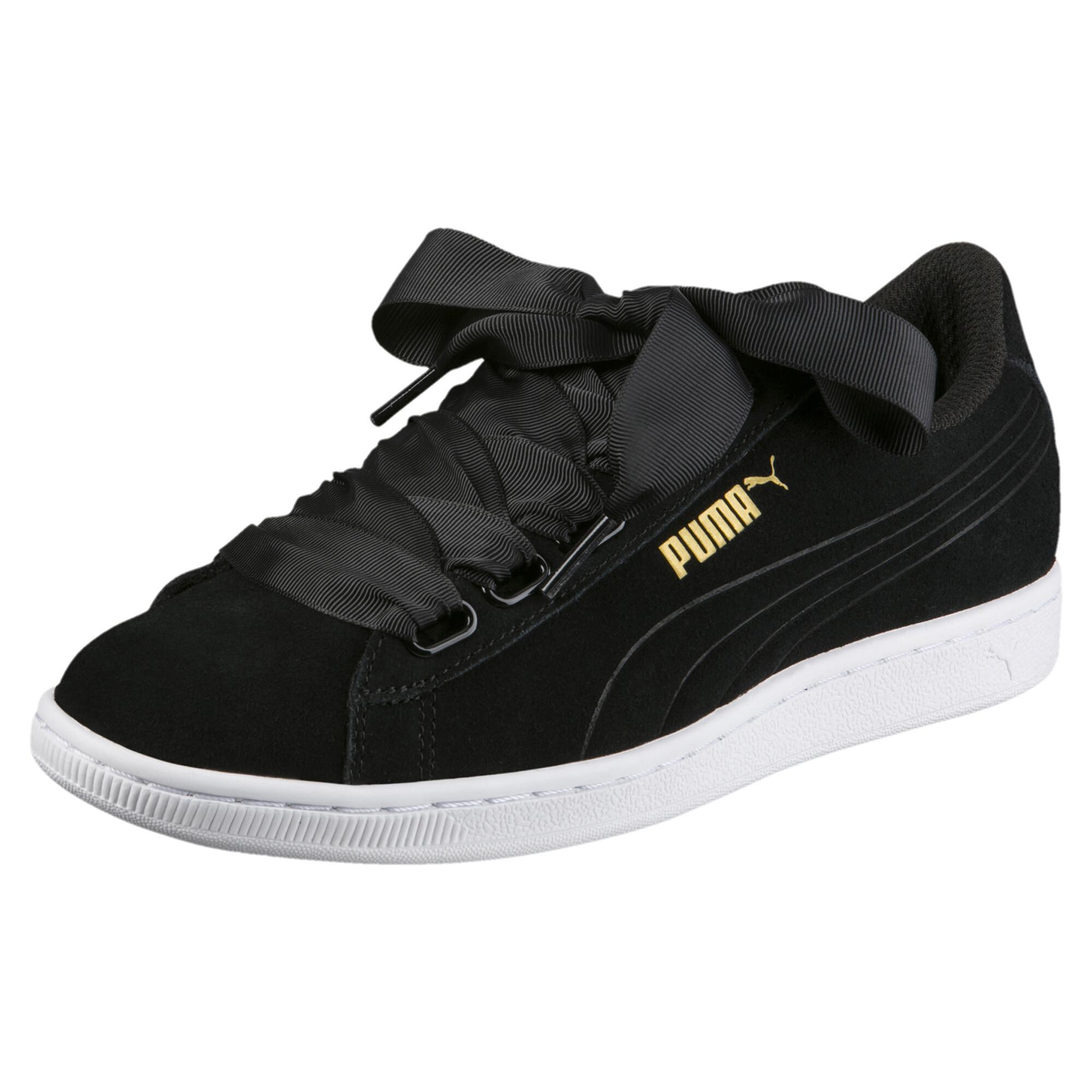 Image Puma Women's Vikky Ribbon Sneakers #1
