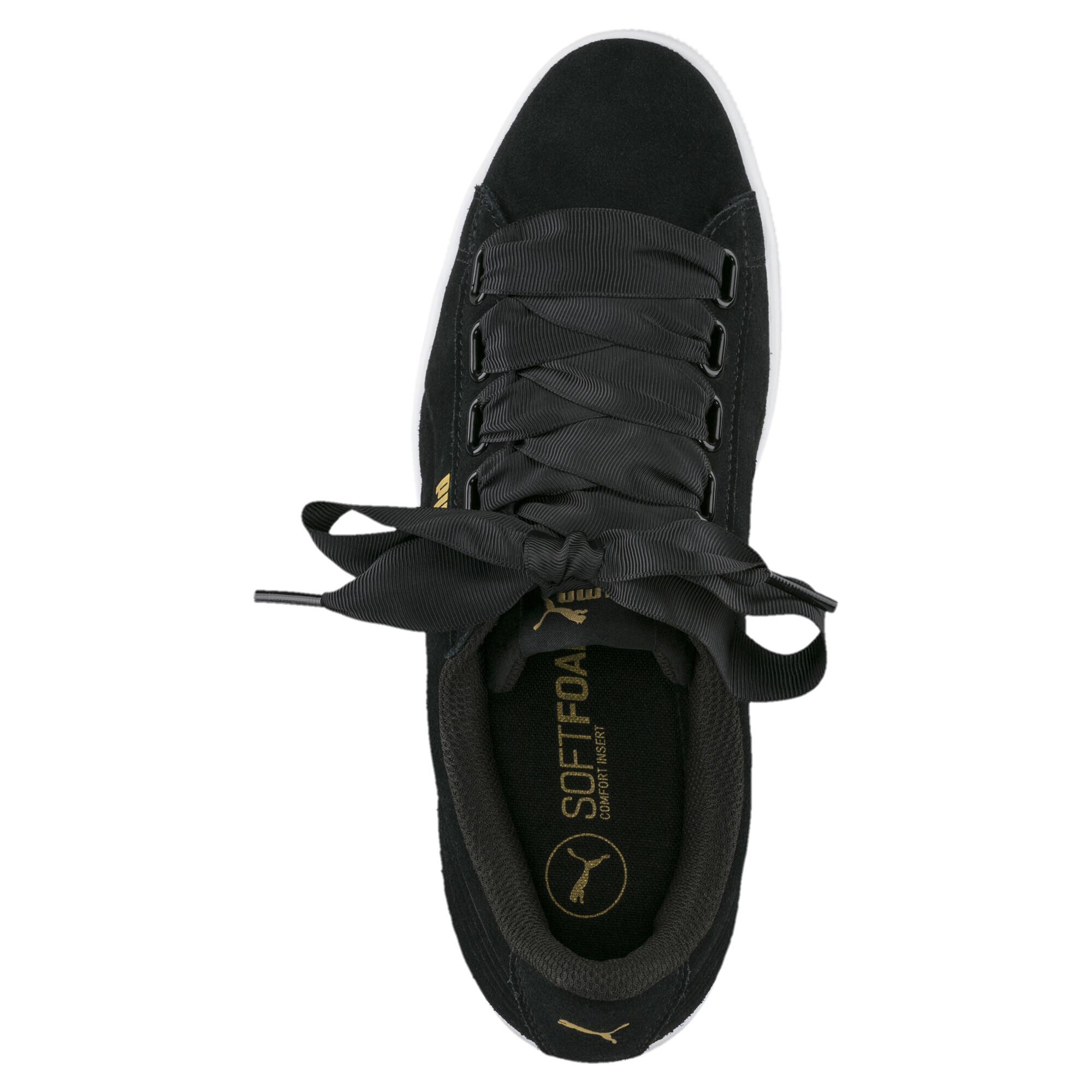 Image Puma Women's Vikky Ribbon Sneakers #5