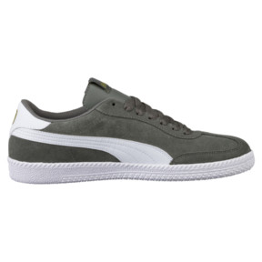 Thumbnail 3 of Astro Cup Suede Sneaker, Castor Gray-Puma White, medium