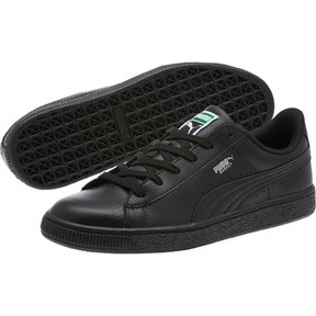 Thumbnail 2 of Basket Classic Kids' Trainers, Puma Black-Puma Black, medium